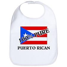 100 Percent PUERTO RICAN Bib