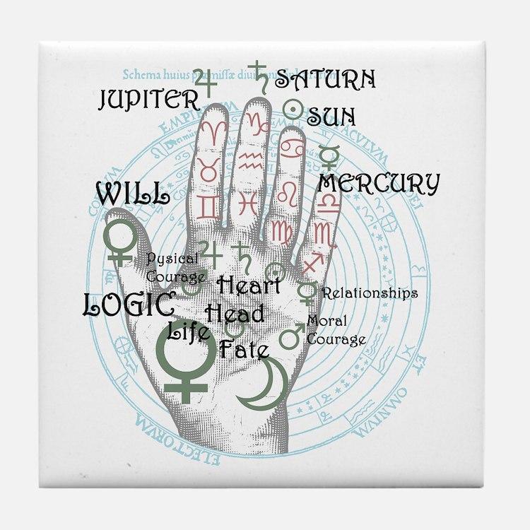 Fortune teller Tile Coaster
