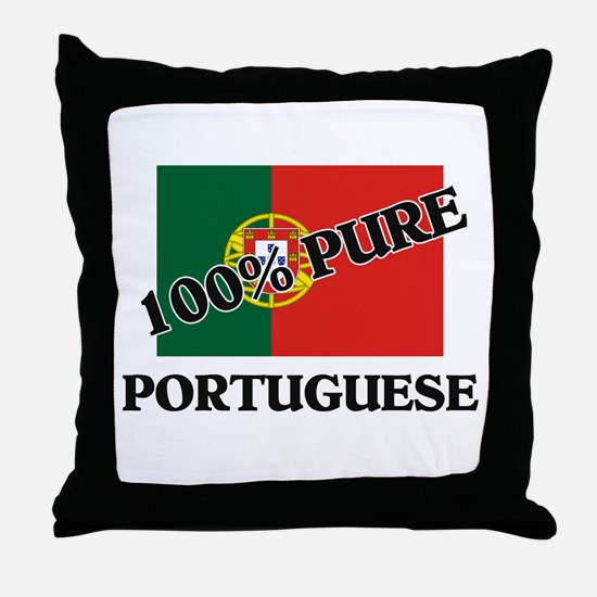 100 Percent PORTUGUESE Throw Pillow