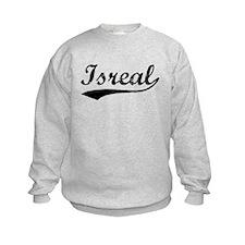 Vintage Isreal (Black) Sweatshirt