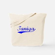 Vintage Taniya (Blue) Tote Bag
