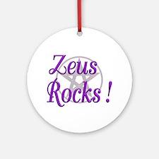 Zeus Rocks ! Keepsake (Round)