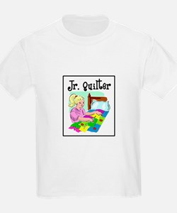 Future Quilter - Girl Sewing T-Shirt
