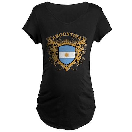 Argentina Maternity Dark T-Shirt