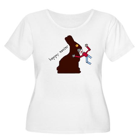 Happy Easter Women's Plus Size Scoop Neck T-Shirt
