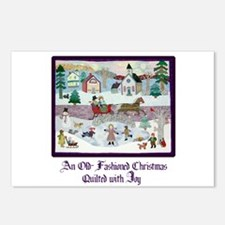 Quilted Christmas - Quilting Postcards (Package of