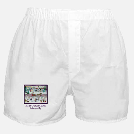Quilted Christmas - Quilting Boxer Shorts