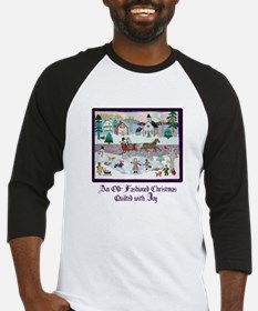 Quilted Christmas - Quilting Baseball Jersey