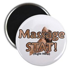 "Massage STAT 2.25"" Magnet (100 pack)"