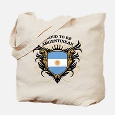 Proud to be Argentinean Tote Bag