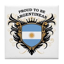 Proud to be Argentinean Tile Coaster