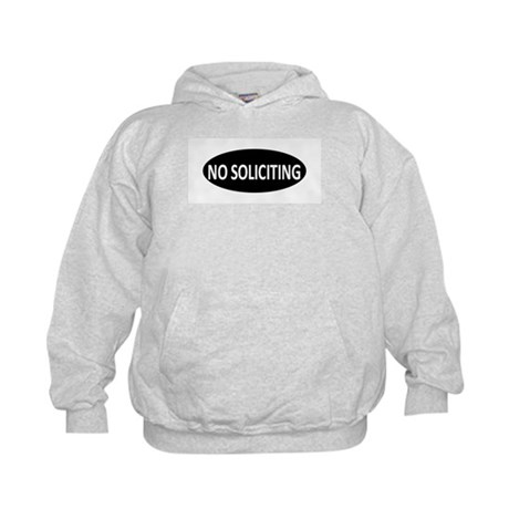 No Soliciting Kids Hoodie
