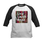 Live Laugh Bead Kids Baseball Jersey
