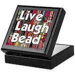 Live Laugh Bead Keepsake Box