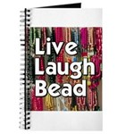Live Laugh Bead Journal