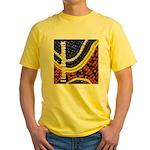 I Love Beadwork - Beads Yellow T-Shirt