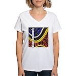 I Love Beadwork - Beads Women's V-Neck T-Shirt