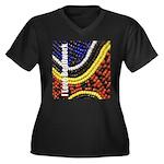 I Love Beadwork - Beads Women's Plus Size V-Neck D