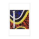 I Love Beadwork - Beads Mini Poster Print