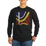 I Love Beadwork - Beads Long Sleeve Dark T-Shirt