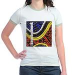 I Love Beadwork - Beads Jr. Ringer T-Shirt
