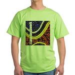 I Love Beadwork - Beads Green T-Shirt