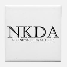 no known drug allergies Tile Coaster