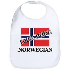 100 Percent NORWEGIAN Bib