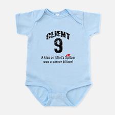 Eliot Spitzer Client 9 Infant Bodysuit