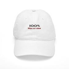 100 Percent Men At Arm Baseball Cap