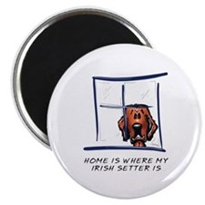 Home is Where My Setter Is Magnet