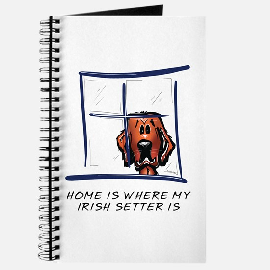 Home is Where My Setter Is Journal