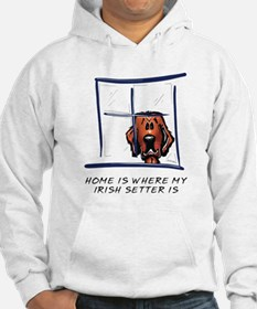 Home is Where My Setter Is Hoodie