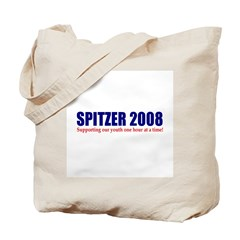 Spitzer 2008: Supporting our Tote Bag