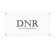 Do Not Resuscitate Banner