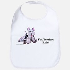 Fox Terrier Agility Dog Bib