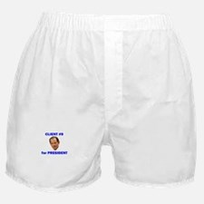 Client #9 for President Boxer Shorts