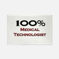 100 Percent Medical Technologist Rectangle Magnet