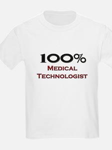 100 Percent Medical Technologist T-Shirt