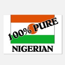 100 Percent NIGERIAN Postcards (Package of 8)