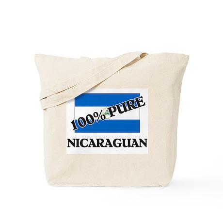100 Percent NICARAGUAN Tote Bag