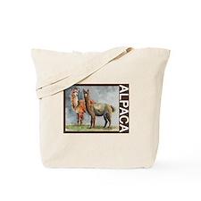 Alpaca Pair Tote Bag