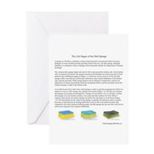 Life Stages of the Dish Sponge Greeting Card