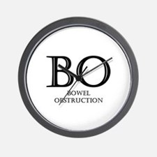 Bowel Obstruction Wall Clock