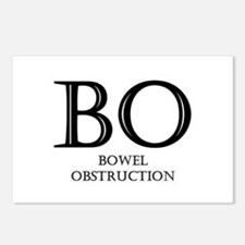 Bowel Obstruction Postcards (Package of 8)