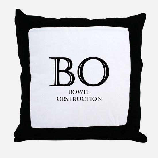 Bowel Obstruction Throw Pillow