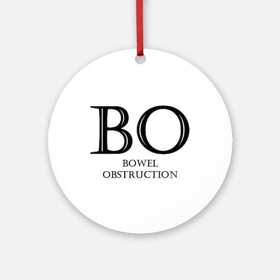 Bowel Obstruction Ornament (Round)