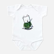 Lucky Charm Westie Infant Bodysuit