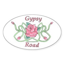 Gypsy Road Store Logo Oval Decal