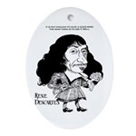 Descartes Oval Ornament
